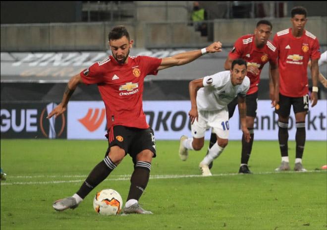 Fernandes (MU) mơ Vua phá lưới Europa League: Tung chiêu mới trên chấm 11m 2