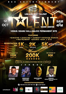 WAW!!! Rex Entertainment presents UJ GOT TALENT; Talent Hunt...