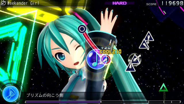 Review: Hatsune Miku Project Diva F Demo ~ Strive for the ...