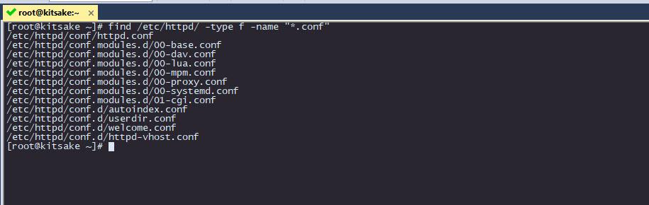 command find filename