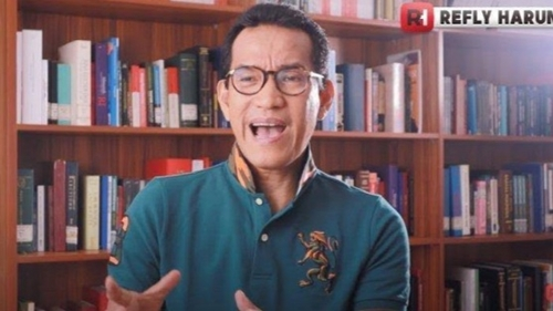 MS Kaban Minta MPR Gelar Sidang Istimewa untuk Mengadili Jokowi, Refly Harun Bereaksi Begini