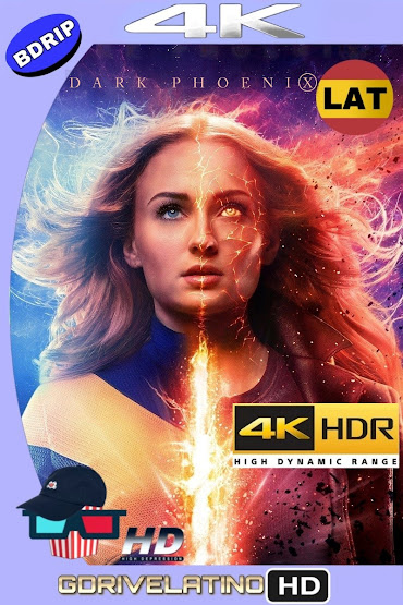 X-Men: Dark Phoenix (2019) BDRip 4K HDR Latino-Ingles MKV