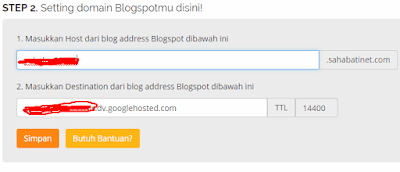 Setting Domain TLD di jagoan hosting