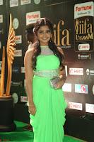Anupama Parameshwaran cute beauty in Neon Green gown at IIFA Utsavam Awards 2017  Day 2  HD Exclusive 11.JPG