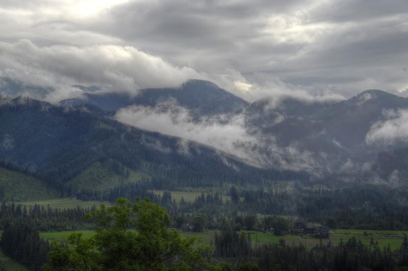góry | krajobraz | mgła | Tatry