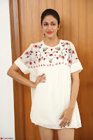 Lavanya Tripathi in Summer Style Spicy Short White Dress at her Interview  Exclusive 278.JPG