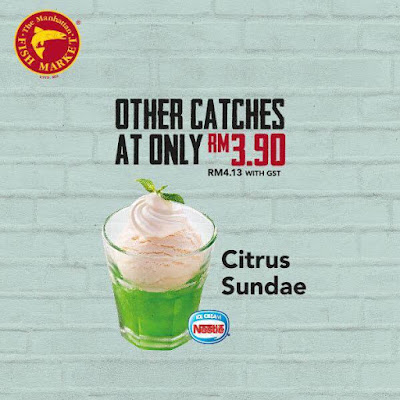 The Manhattan FISH MARKET Citrus Sundae