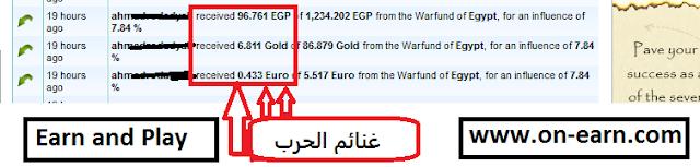 Earn Money From MarketGlory Wars