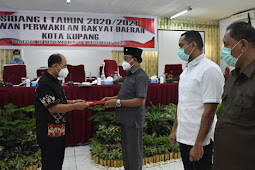 Jefirstson Riwu Kore Apresiasi Putusan DPR Kota Kupang Tetapkan APBD 2021