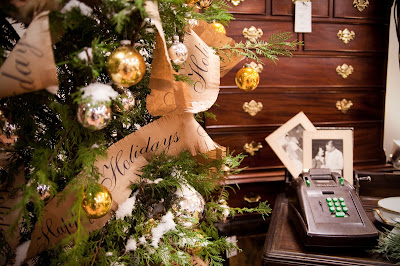 image christmas tree vintage decorations room photos