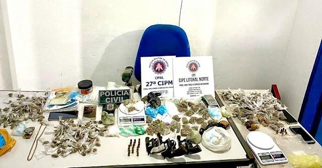 Três suspeitos são mortos durante operação em Cabaceiras do Paraguaçu no Recôncavo baiano
