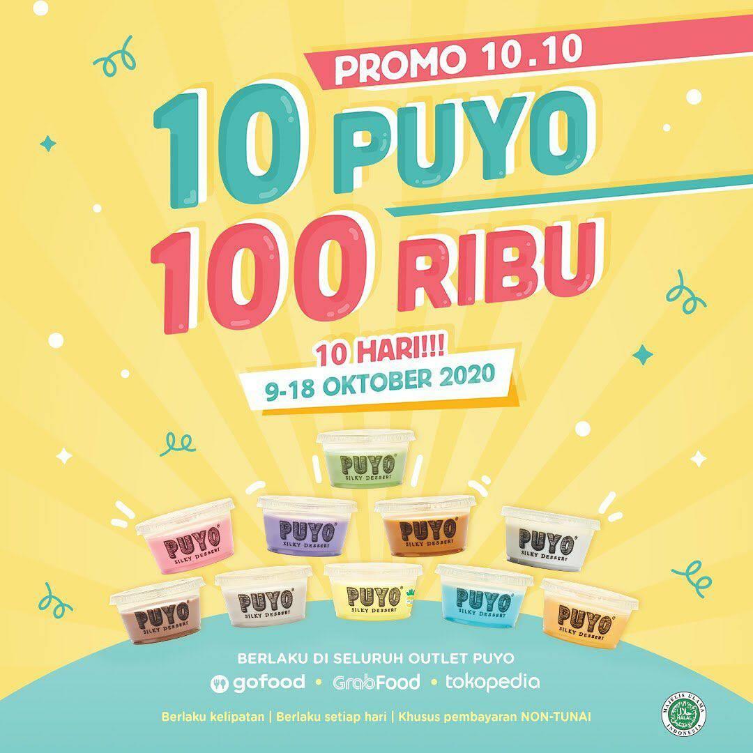 Promo PUYO Dessert Oktober 2020