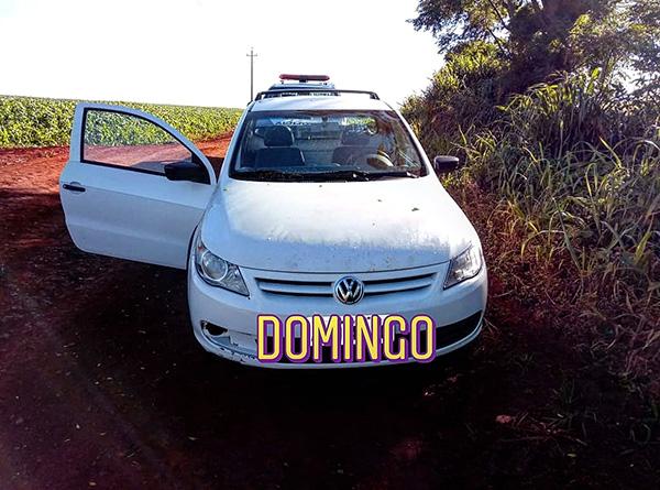 Veículo furtado é encontrado em Ubiratã