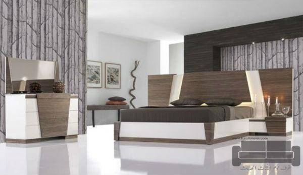 غرف نوم تركية كاملة 2016,غرفة نوم تركية كاملة للبيع, صناعة مصرية, غرفة نوم ابيض في بني