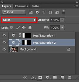 cara mewarnai dengan banyak warna di photoshop