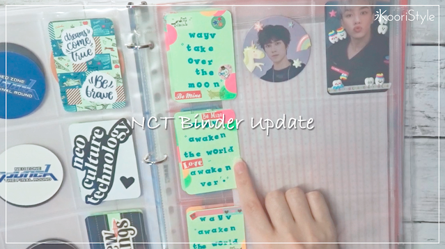 KooriStyle, Koori, Style, NCT, photocard, binder, update, asmr, no talking, sounds, no music, carpeta, actualizacion, decoracion, decoration, deco, cute, kawaii, nct, wayv, superm, nctzen