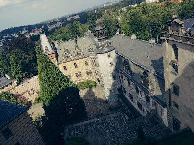 Wspomnienia z wakacji: Frydlant- zamek i rynek