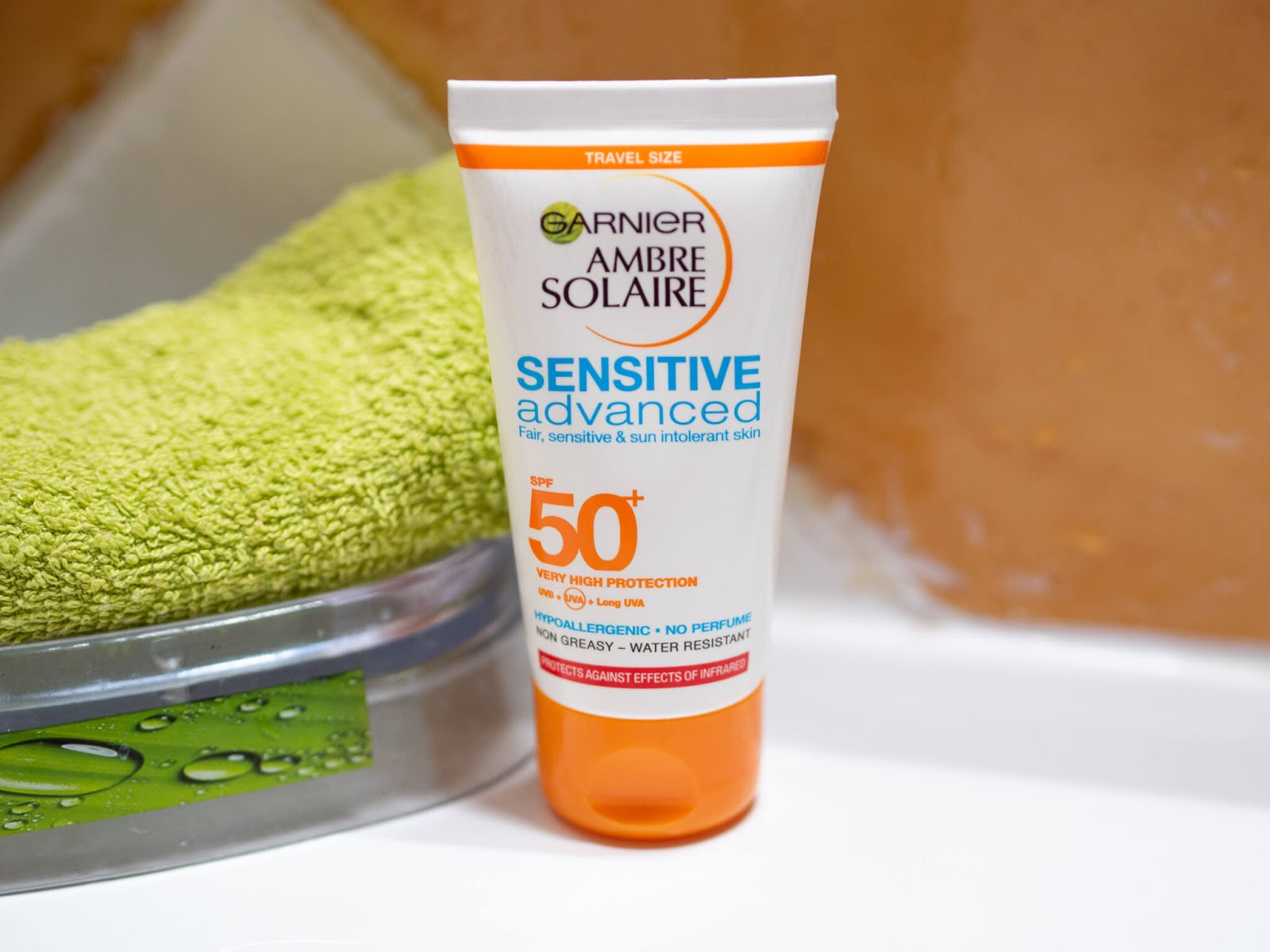 Garnier sensitive SPF review