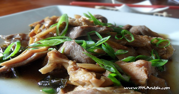 Twice-Cooked Pork Stomach Recipe
