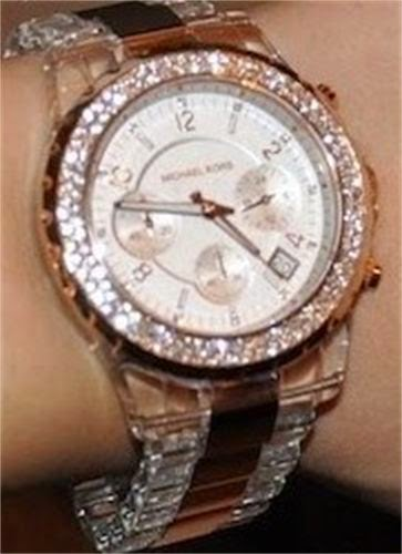 Michael Kors Watches Rose Gold With Diamonds Fashion S