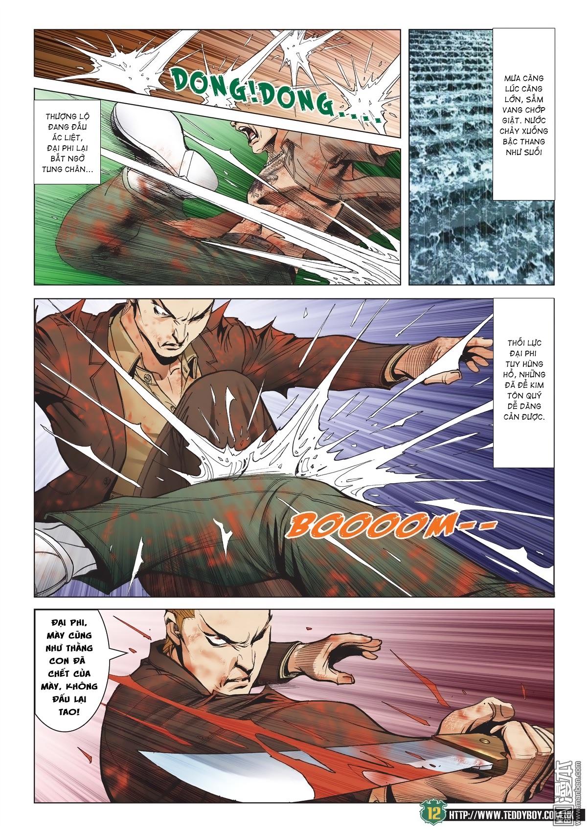 Người Trong Giang Hồ chapter 2033: kim tôn quý vs đại phi trang 9