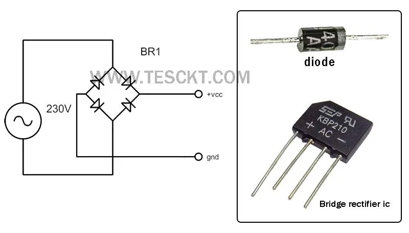 power supply rectifier circuit