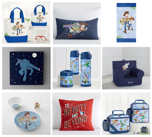 Toy Story backpacks and more from Pottery Barn Kids