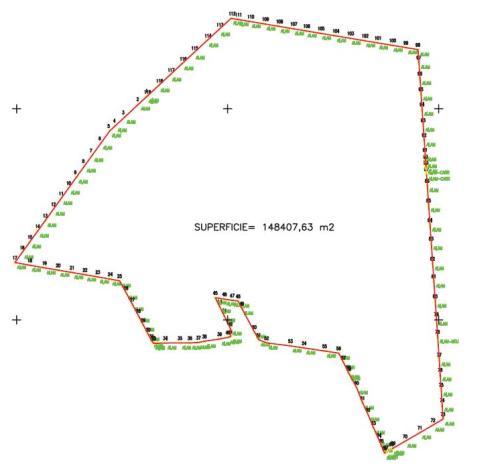 Certificación de Superficies Medición topografica