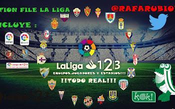 LaLiga 1|2|3 | Option File | PS4 | PC | PES2019 [25.09.2018]