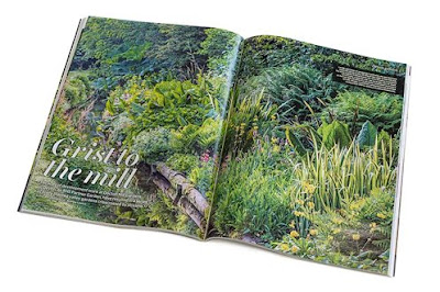 Docton Mill Gardens & Tearoom is featured in  March 2017 RHS Garden Magazine