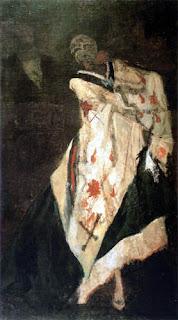 Rops, Mort au bal, 1875