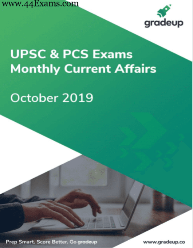 Gradeup-Current-Affairs-October-2019-For-UPSC-Exam-PDF-Book