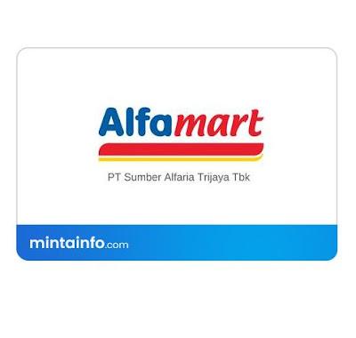 lowongan kerja PT. Sumber Alfaria Trijaya (Alfamart) terbaru Hari Ini, info loker pekanbaru 2021, loker 2021 pekanbaru, loker riau 2021
