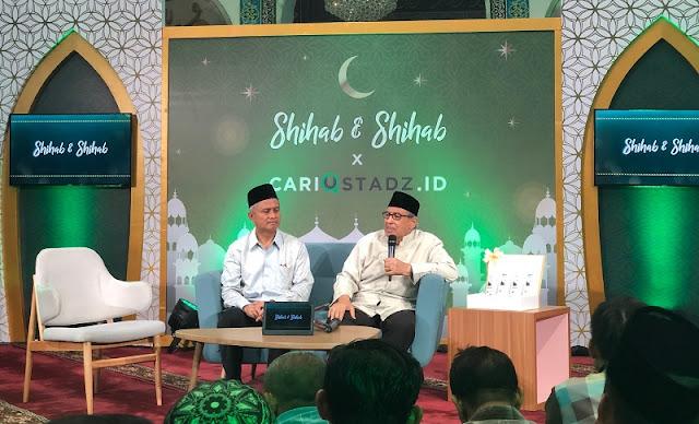 Quraish Shihab: Ustaz Itu Bukan yang Sukses Bikin Orang Ketawa