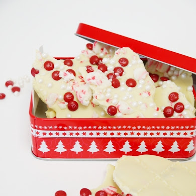 White Chocolate and Peppermint Bark Recipe