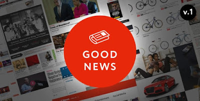 Good News v1.1.7.2 – Multi-Niche Blog/Magazine Theme