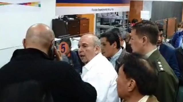 Gobierno interpone denuncia contra Morales y Quintana por sedición y terrorismo