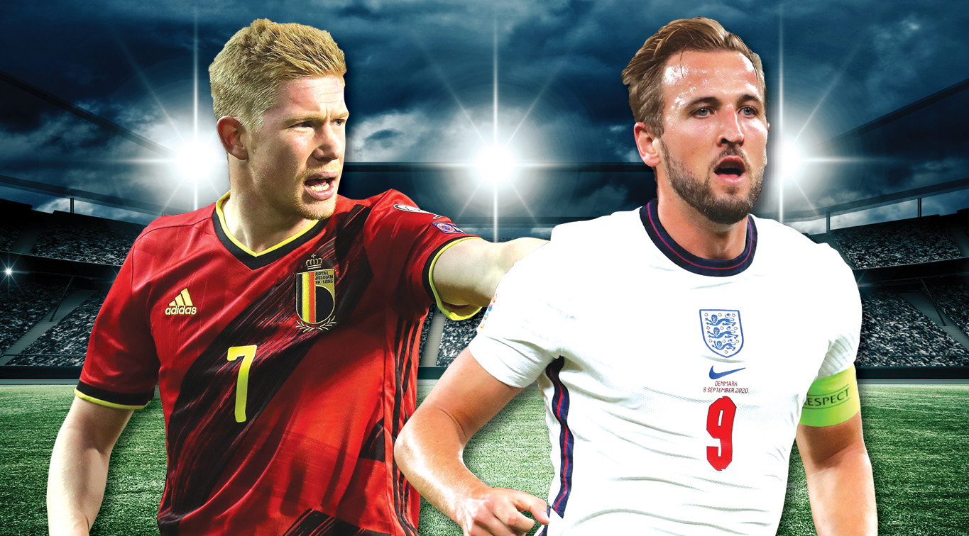 Kevin De Bruyne and Harry Kane