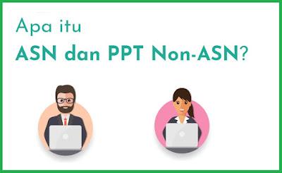Apa itu ASN dan PPT Non-ASN dan Apa itu PPPK dan bedanya dengan PNS, yuk Simak penjelasan di bawah ini