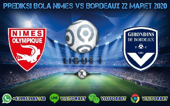 Prediksi Skor Nimes vs Bordeaux 22 Maret 2020