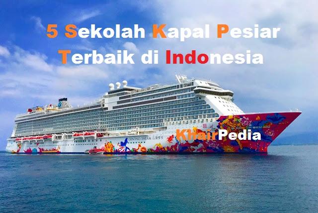 sekolah kapal pesiar terbaik di indonesia