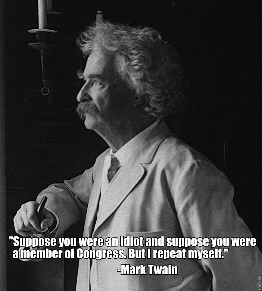 Mark Twain Quotes: The Whited Sepulchre: Time To Purge The Photo Files
