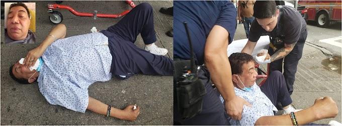 VIDEO: Reportero Manuel Ruiz de Telemicro Internacional sale de hospital después de caída y lesiones en calle del Alto Manhattan