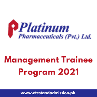Platinum Pharma Management Trainee Program 2021