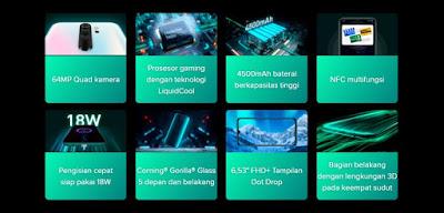 Xiaomi Redmi Note 8 Pro Spesifikasi Lengkap
