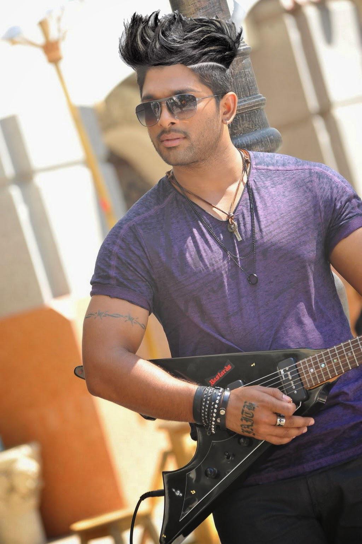 Duvvada Jagannadham new look Allu Arjun hair style, allu ...