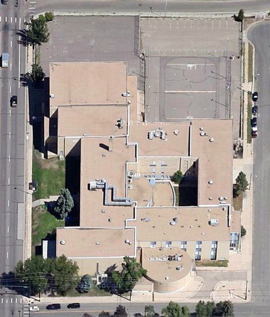 satellite view of flood middle school courtesy of google maps
