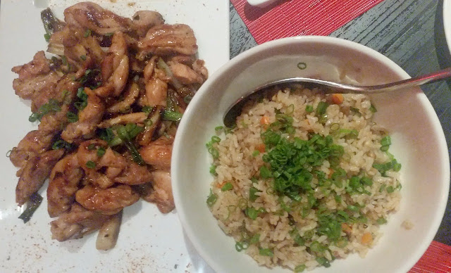 Chicken Teppanyaki & Fried Rice