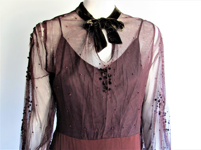 30s Bruyere couture from Paris, France