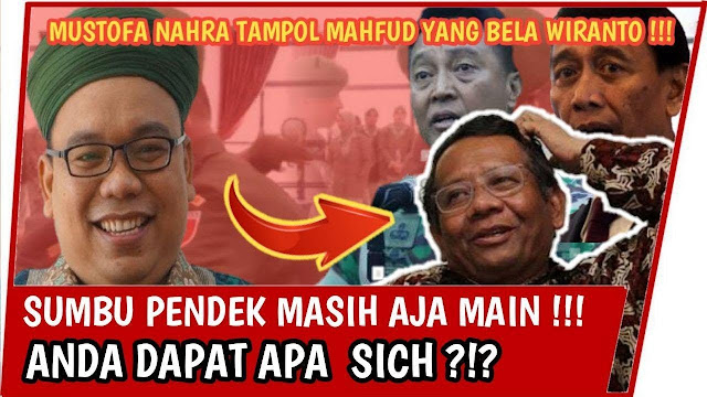 Mustofa Sindir Mahfud MD Soal Penusukan Wiranto